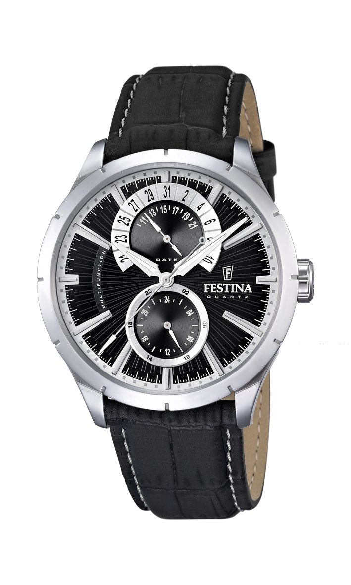 Festina Retro Black Watch