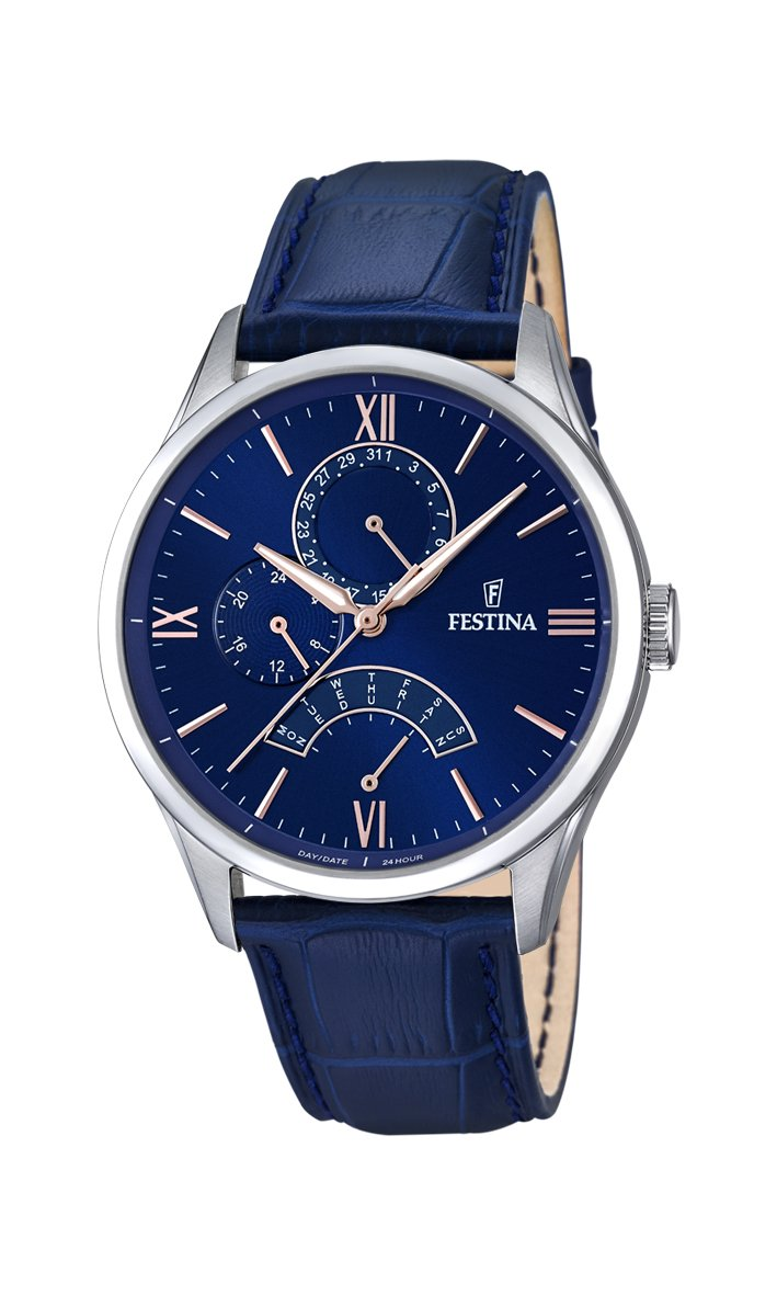 Festina Retro Blue Watch