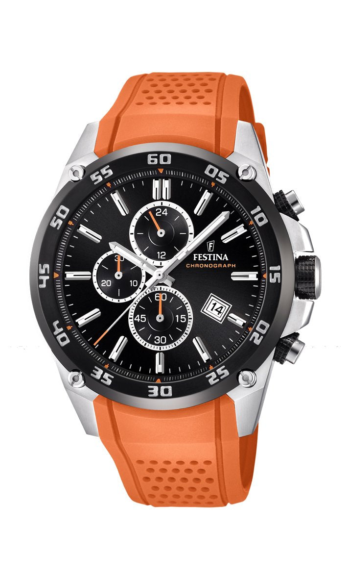 Festina Originals Orange Watch