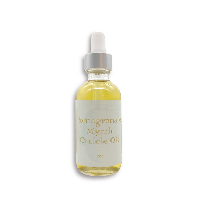 Pomegranate & Myrrh Cuticle Oil