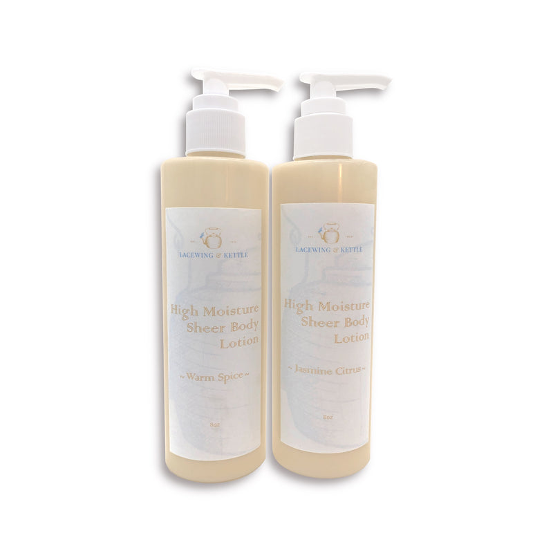 High Moisture Sheer Body Lotion Set