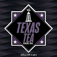 Load image into Gallery viewer, Texas-Tea-Hair-Oil-Label