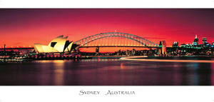 PANSYD10 OPERA HOUSE / BRIDGE - RED