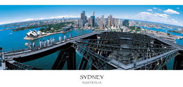 PANSYD19 SYDNEY HARBOUR BRIDGE CLIMB