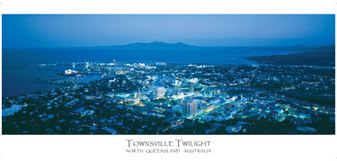 PAN13 TOWNSVILLE TWILIGHT AERIAL