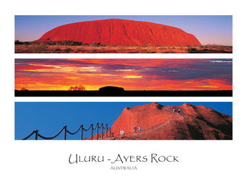 PCRC33 AYERS ROCK 3 VIEW