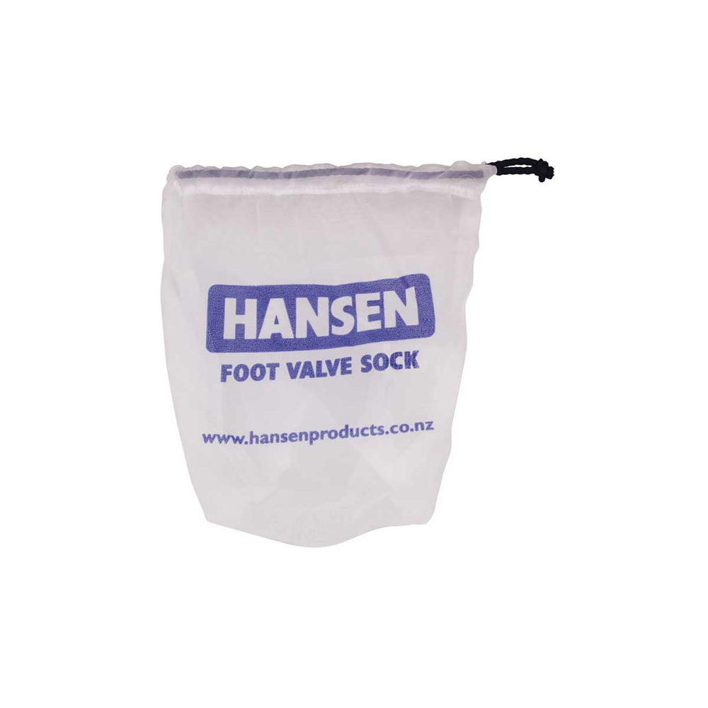 Hansen Foot Valve Filter Sock