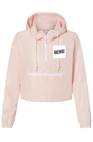 Lightweight Pullover Crop Windbreaker