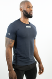 NAVY FITTEE T-SHIRT