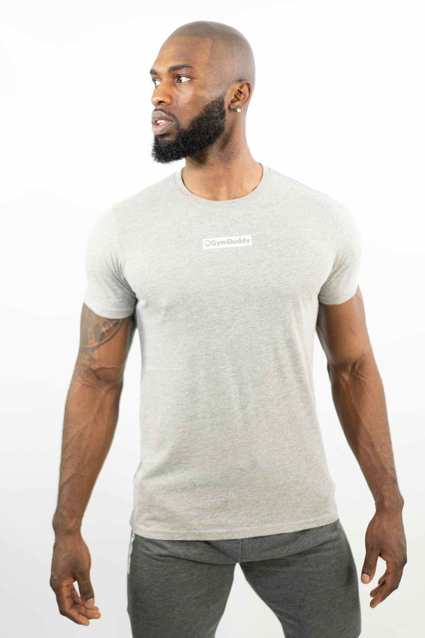 MISTY GREY FITEE T-SHIRT