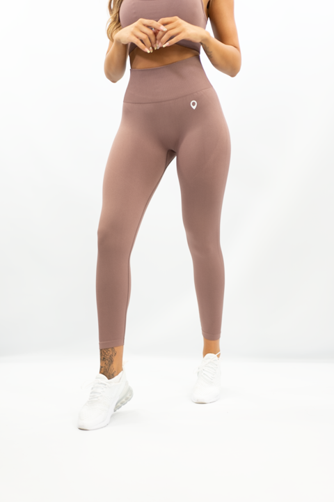 DUSTY BROWN VOGUE LEGGING