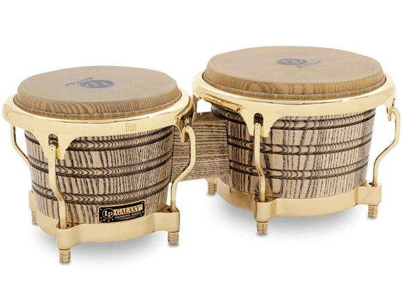 LP® GALAXY® GIOVANNI SIGNATURE BONGOS NATURAL/GOLD