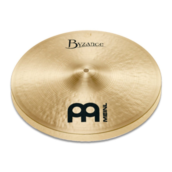 MEINL Cymbals B14TH 14inch Byzance Traditional Thin HiHat, Pair