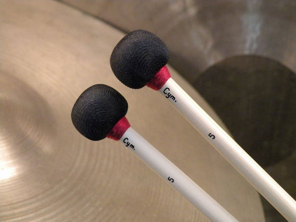 RON VAUGHN HIGH-DENSITY HEAD CYMBAL MALLETS