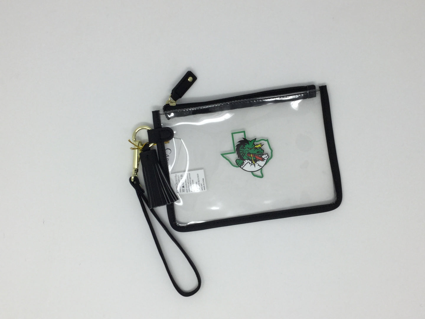 Dragon - Capri Design Clear Bags