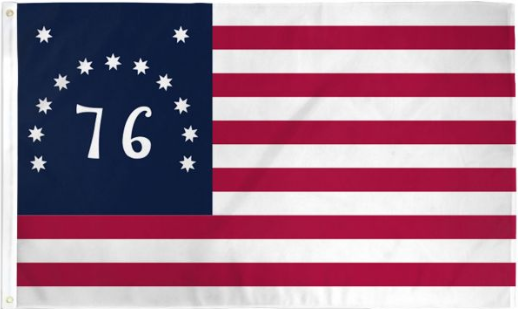 USA Bennington 76 Flag 3x5ft Poly