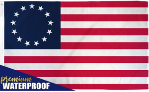 USA Betsy Ross Waterproof Flag 3x5ft Poly
