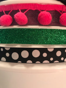 DYC Cheer Bucket (Only) ALL DECORATIONS (Glitter+Dragon Logo)