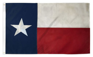Texas Embroidered Flag 3x5ft