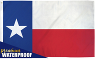 Texas Waterproof Flag 3x5ft Poly