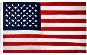 USA Embroidered Flag 2x3ft