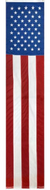 USA Embroidered Pulldown Flag 8ftx20in