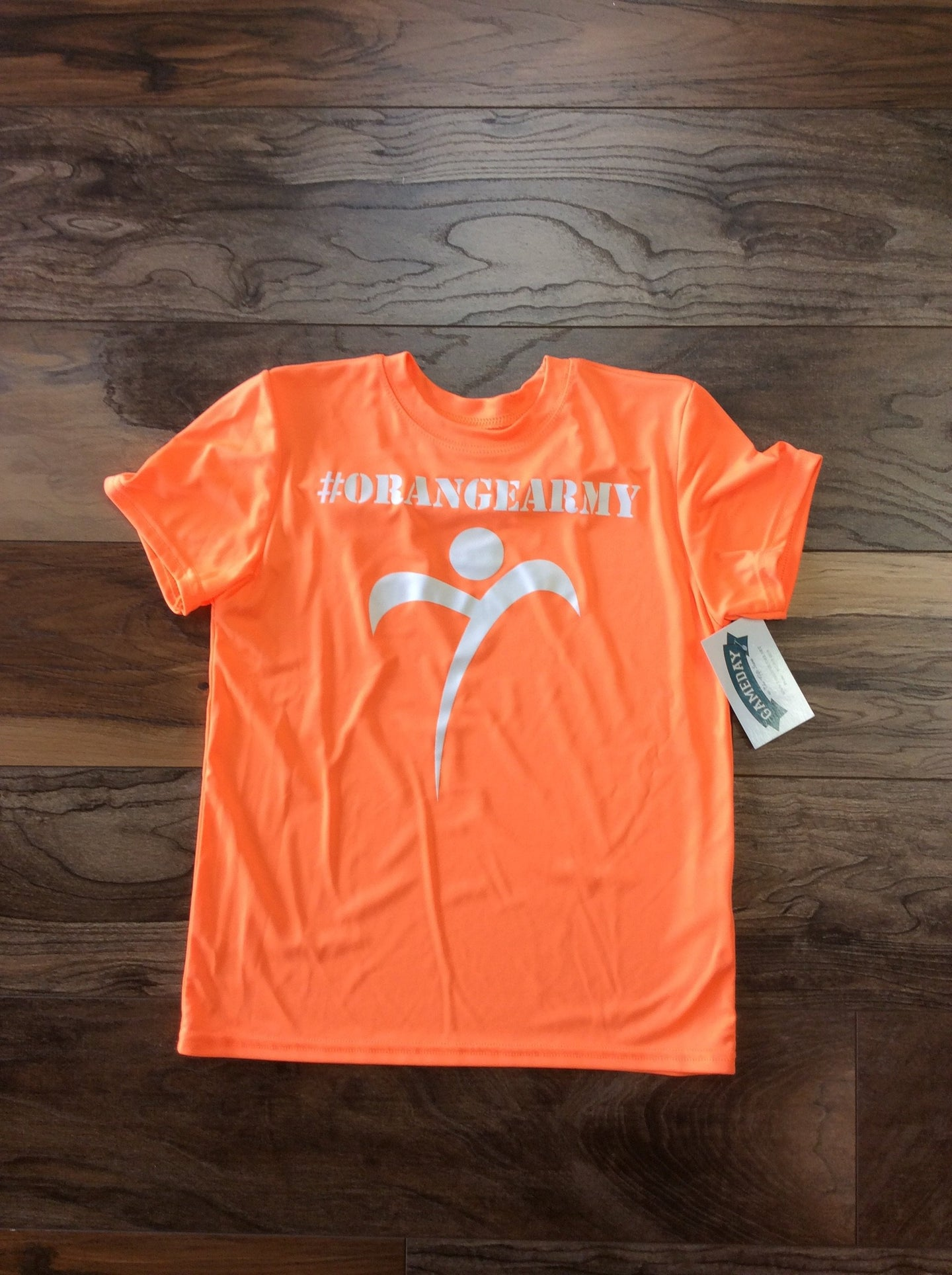 TF - Orange Army Shirt