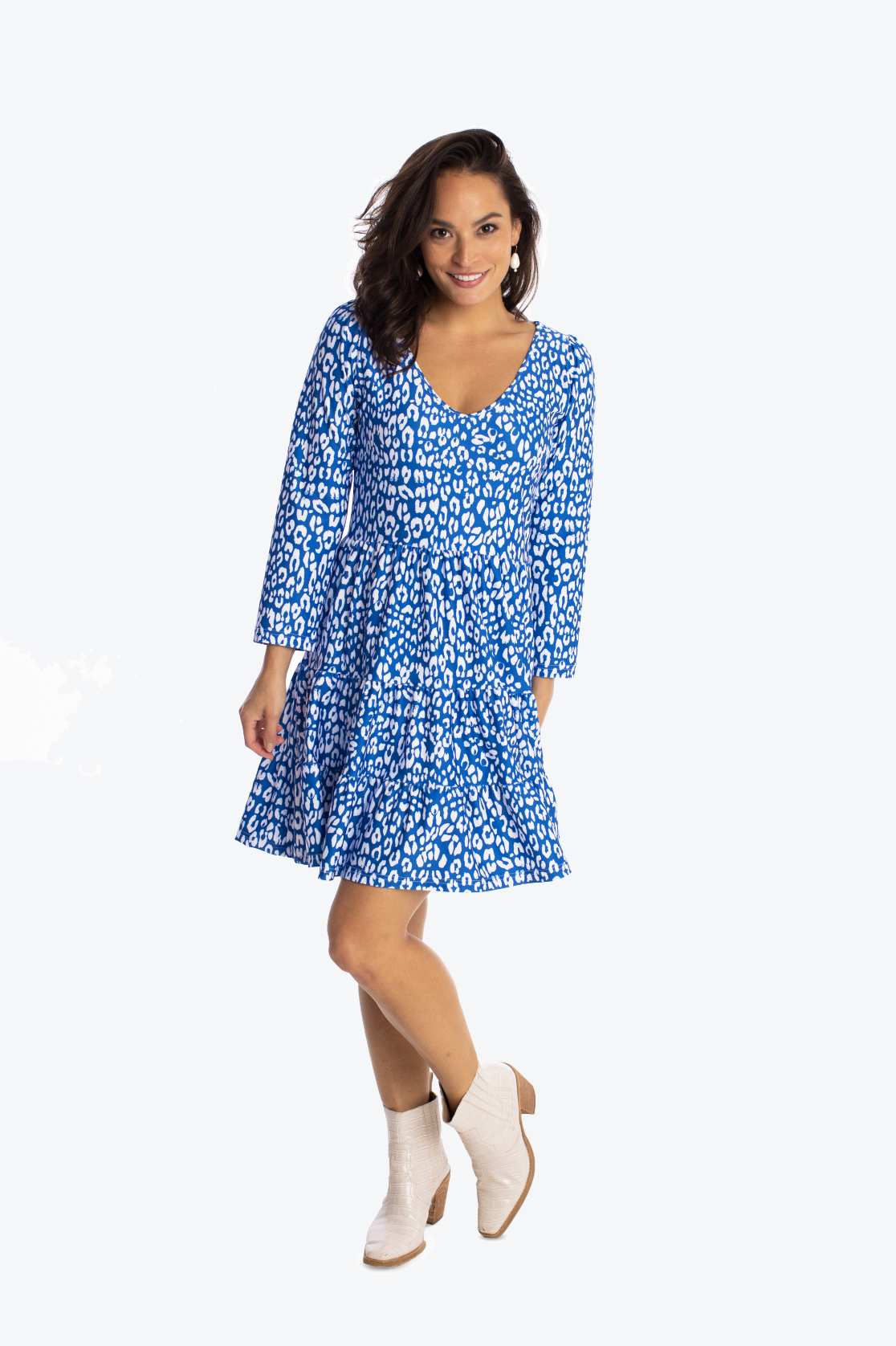 The Devon Dress - Denim Spot