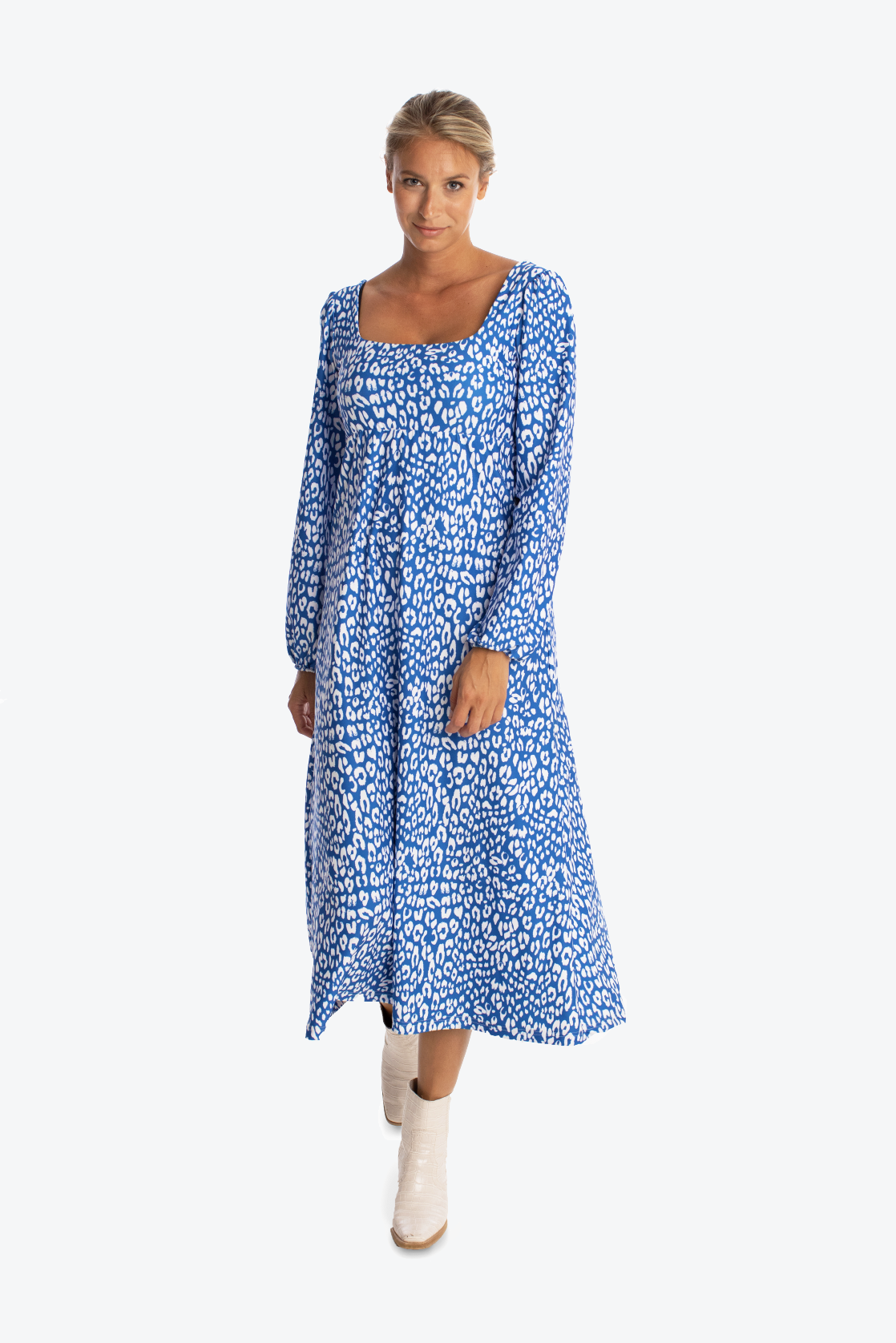 The Shea Dress - Denim Spot