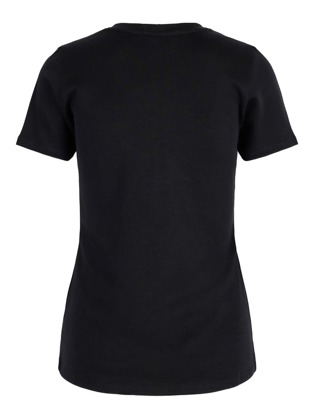 THE ANETTE V-NECK TEE  Sort
