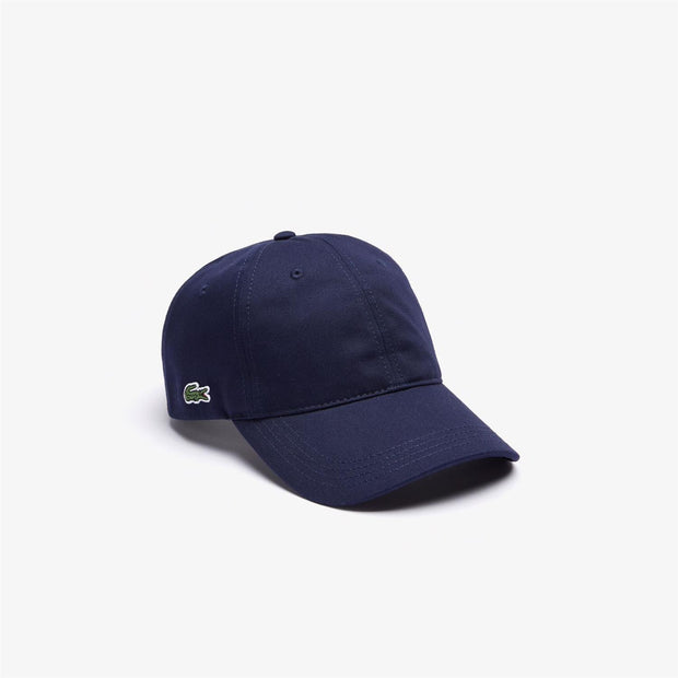 CONTRAST STRAP COTTON CAPS  Marine