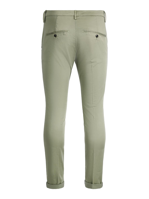 GAUBERT STRETCH CHINO  Grønn