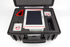 Draminski 4Vet Portable Ultrasound (Black and White) with Interchangeable Probes and Touchscreen|L'échographe vétérinaire portable 4Vet - noir et blanc avec des sondes interchangeables et écran tactile