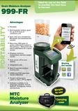 MTC Portable Gain Moisture Analyzer 999 FR
