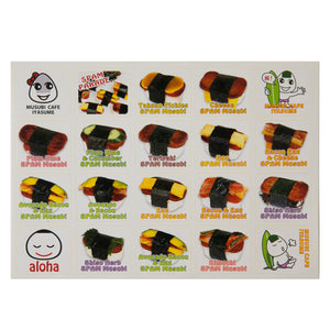 Assorted SPAM® Musubi sticker