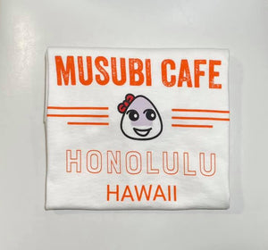 Musubi Cafe Tees Orange