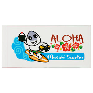 Musubi surfer Sticker - Rectangle