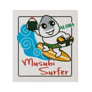 Musubi surfer Sticker - Square