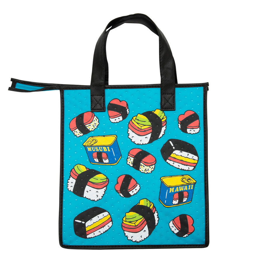 Medium Musubi Eco Bag - Musubi Jam Turq