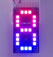 Cyber Digit - RGB 7-Segment Display