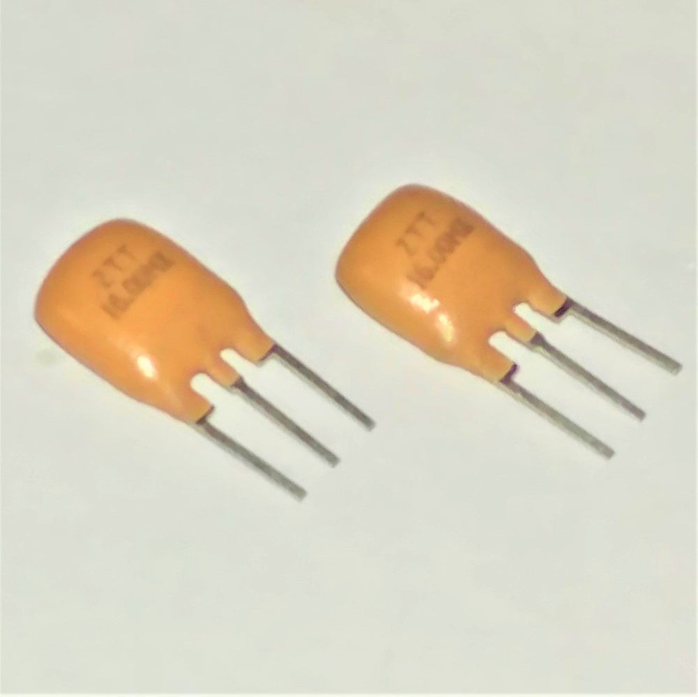 Two 16 MHz Ceramic Resonators