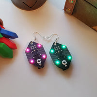 Rupee - RGB Ear Rings (V2)