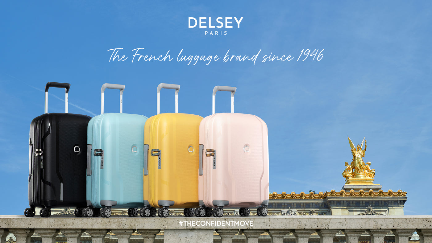 Delsey offers a range of TRAVEL BAGS, the DELSEY suitcase is practical, spacious and light-weight, will accompany you on every journey.