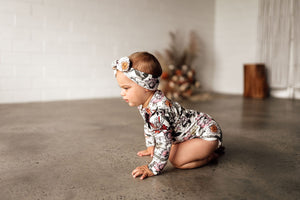 Australiana Organic Long Sleeve Bodysuit