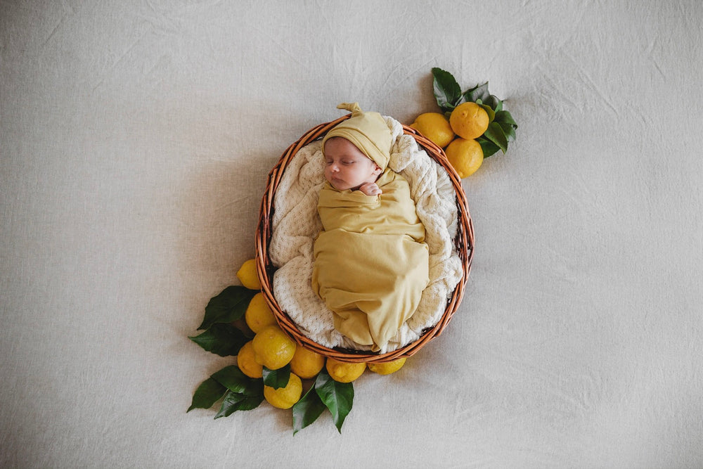 Load image into Gallery viewer, Gelato Baby Jersey Wrap & Beanie Set