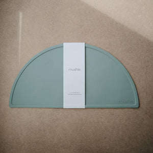 Mushie Silicone Place Mat (Cambridge Blue)
