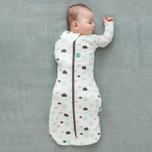 Load image into Gallery viewer, ergoPouch Clouds Cocoon Swaddle Bag 1.0 TOG