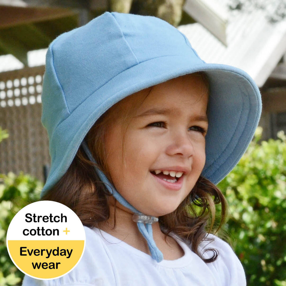Toddler Bedhead Hats Bucket Hat - Chambray Print