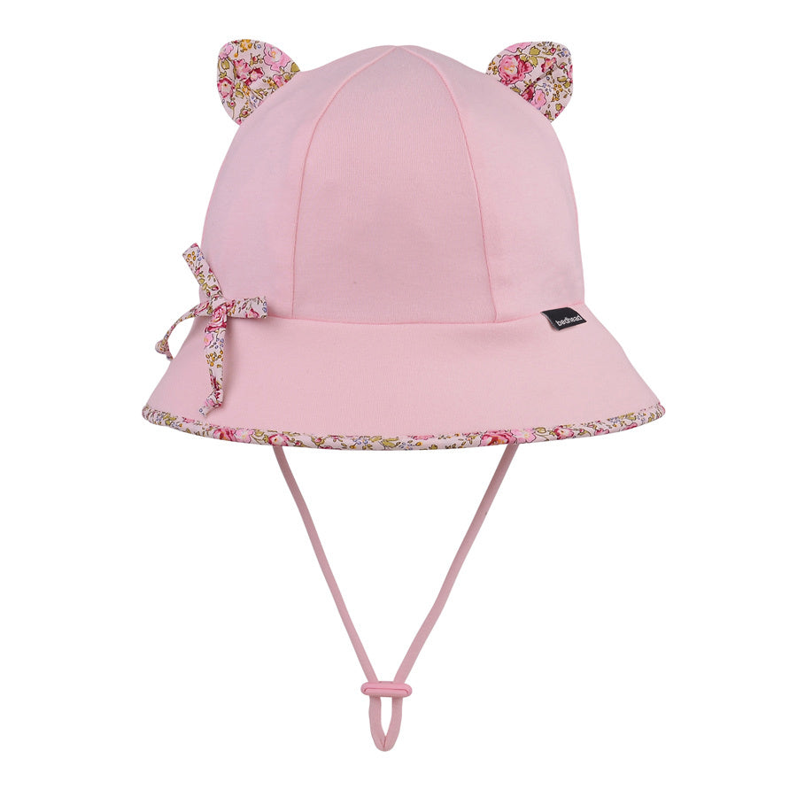 Toddler Bedhead Hats Bucket Hat - Blush (Paisley Trimmed)