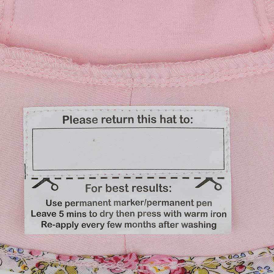 Load image into Gallery viewer, Toddler Bedhead Hats Bucket Hat - Blush (Paisley Trimmed)